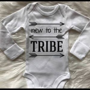 Other - New to the tribe onsie